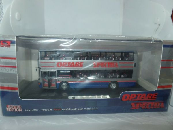 Jotus Resin RS76623B 1/76 OO Optare Spectra Nottingham Silver Blue Route R11
